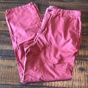 NWOT Red Chinos